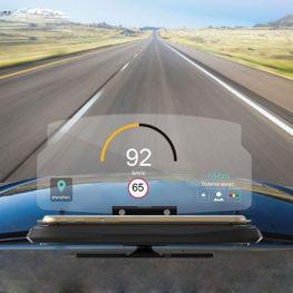Hologramos autós navigáció
