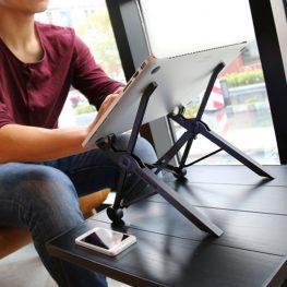 Laptok és tablet tartó állvány