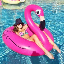 Felfújható flamingó úszógumi