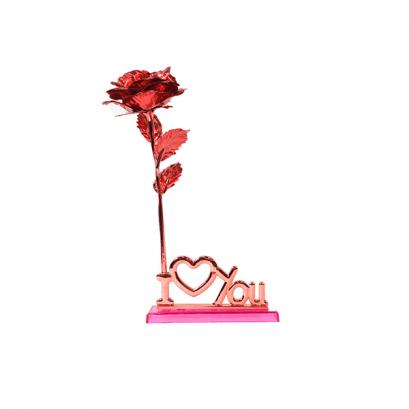 24K Arany Rózsa állvánnyal