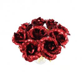 24K Arany Rózsa Csokor