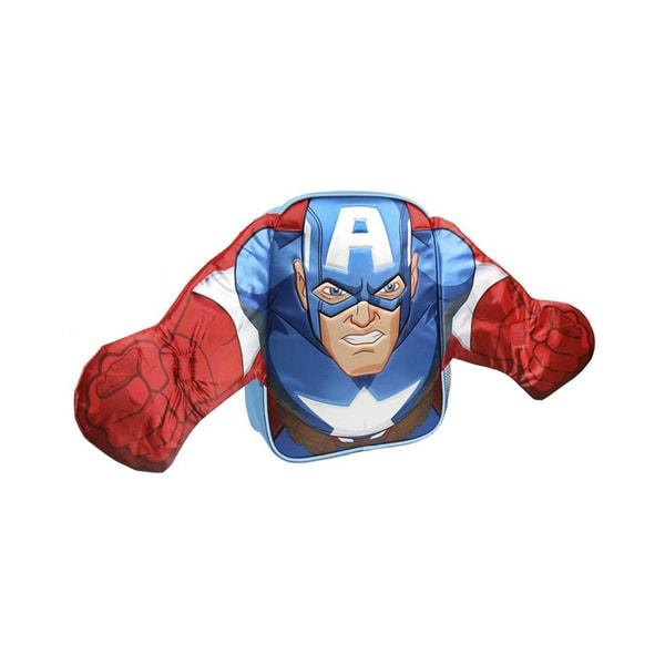 3D Amerika kapitány hátizsák