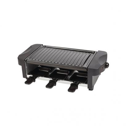 6 személyes raclette grillsütő