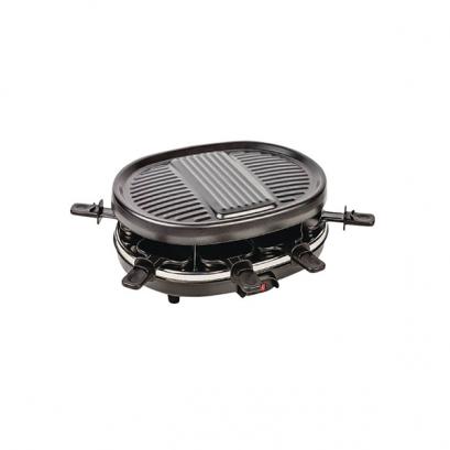 8 személyes raclette grillsütő