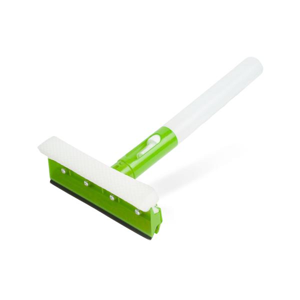 Ablaktisztító szivacs – tartállyal és vízlehúzó gumival