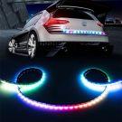 Autó tuning LED hátsó kijelző szalag