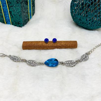 Blue Luxury Ékszerszett