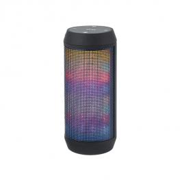 Bluetooth hangszóró beépített rádióval és LED-világítással