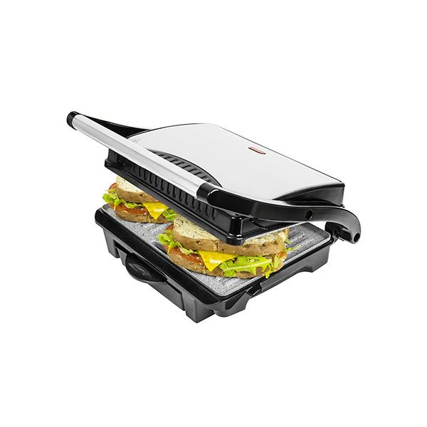 Cecotec kontakt grillsütő zsírgyűjtő tálcával_1