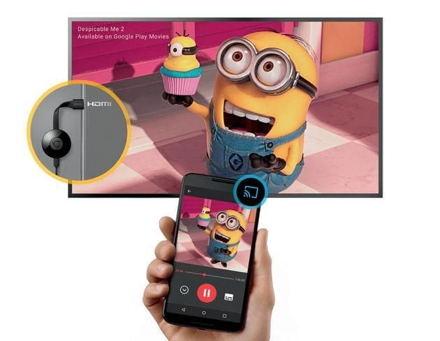 Chromecast 2 TV okosító