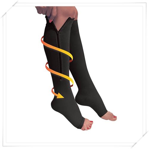 Cipzáros kompressziós zokni