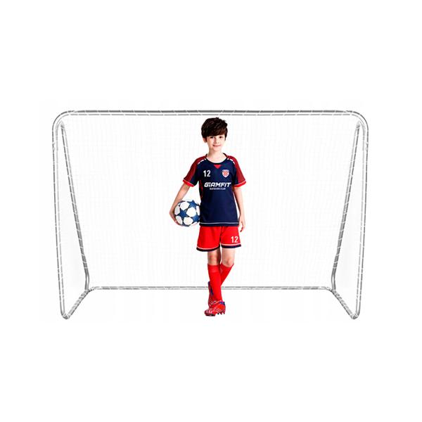 Hordozható fém focikapu