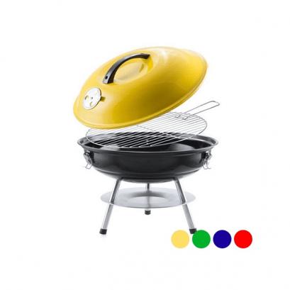 Hordozható faszenes grill