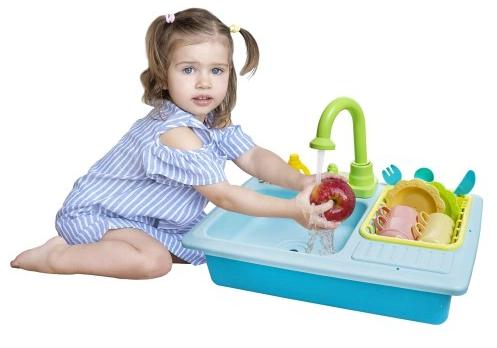 Játék mosogató szett