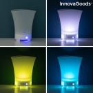 Jégvödör LED-es világítással és hangszóróval