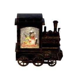 Karácsonyi vonat dekoráció