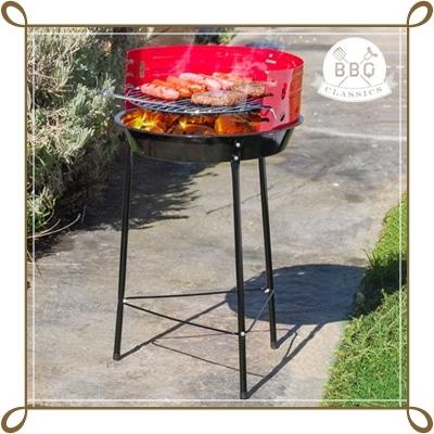 Klasszikus faszenes grill