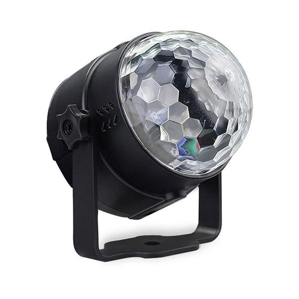 Kristálygömb – LED party fény1