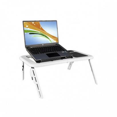 LED-es összecsukható laptop asztal