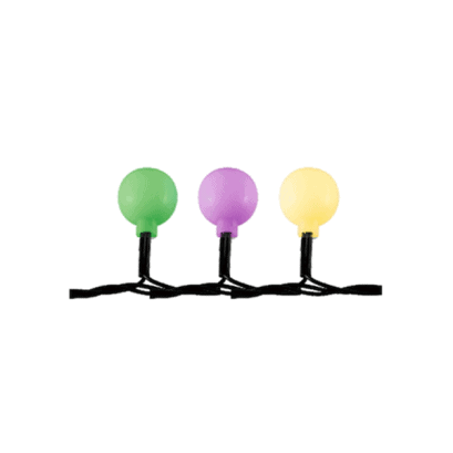 LED-es gömb fényfüzér