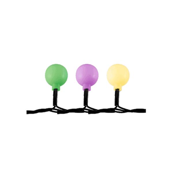 LED-es gömb fényfüzér2