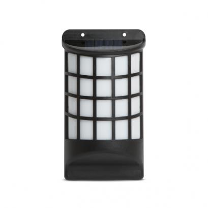 LED-es szolár fali lámpa - lángeffekttel