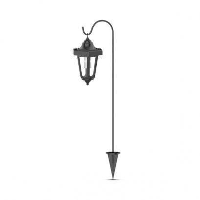 LED-es szolár kandeláber