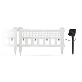 LED-es szolár kerítés