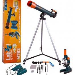 LabZZ MTB3 mikroszkóp-, teleszkóp- és távcső készlet