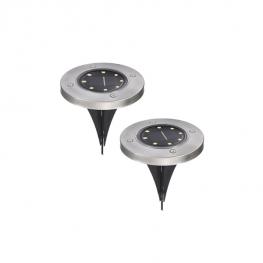 Leszúrható LED-es kerti szolárlámpa