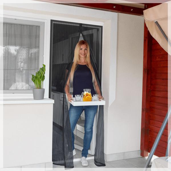 Mágneses szúnyogháló függöny ajtóra