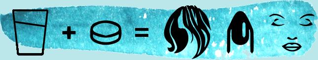 Magic Hair Splash pezsgőtabletta