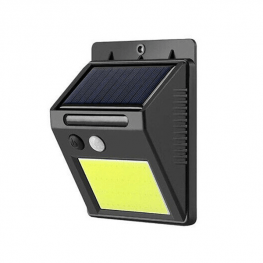 Mozgásérzékelős napelemes lámpa