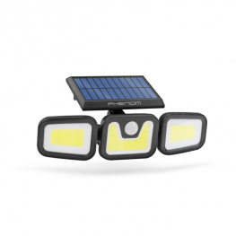 Mozgásérzékelős szolár reflektor - karos, forgatható - 3 COB LED