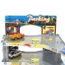 Négyemeletes parkolóház autópályával