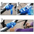 Professzionális kerékpár-lánctisztító