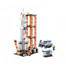 QMAN Űrkilövő állomás – járművel