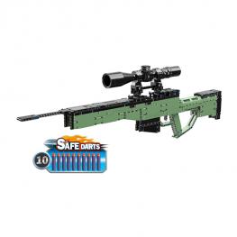 QMAN AWM orvlövész puska – 10 db szivacs tölténnyel