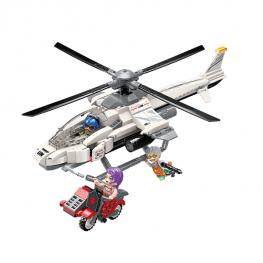 QMAN Helikopter megtámadása
