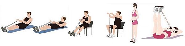 Többfunkciós fitness kötél