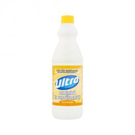 Ultra Citrom illatú Fehérítő és Fertőtlenítő - 1000ml