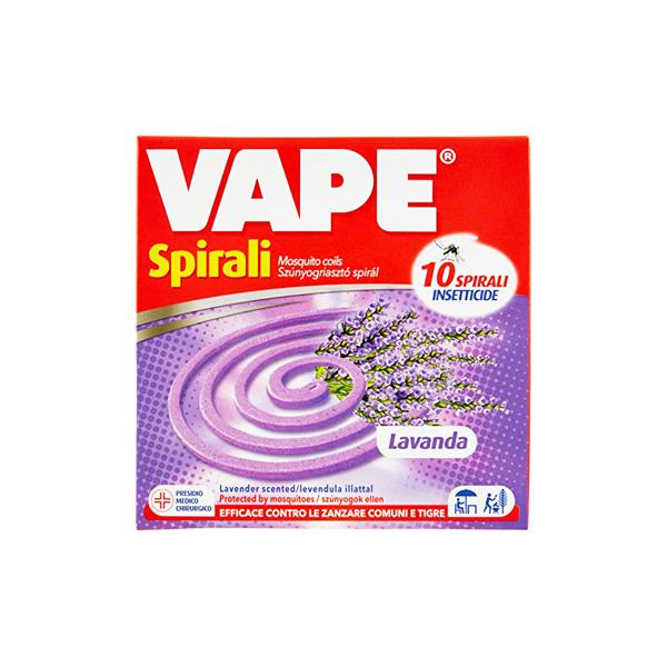Vape szúnyogirtó spirál levendula illattal – 10db