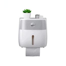 WC-papír tartó és rendszerező